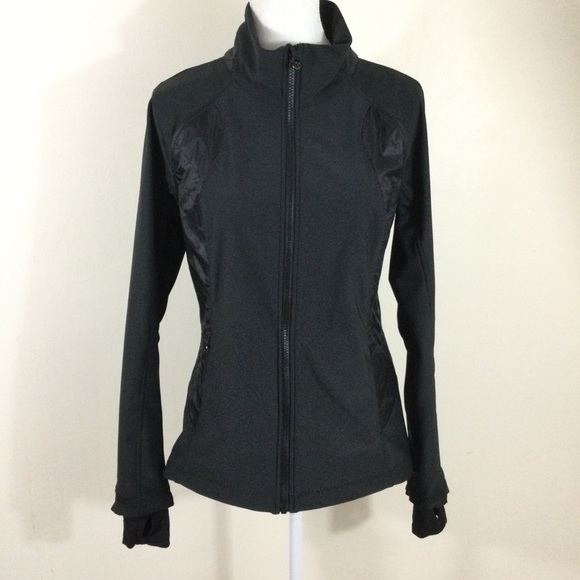 Lululemon Black Wind Runner Softshell Jacket
